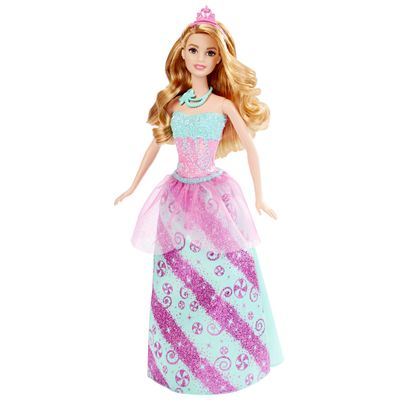 Boneca Barbie Princesa - Reinos Mágicos - Reino dos Doces - Mattel