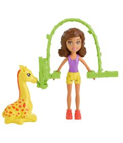 Boneca-Polly-Pocket---Surpresa-Safari---Girafa---Mattel