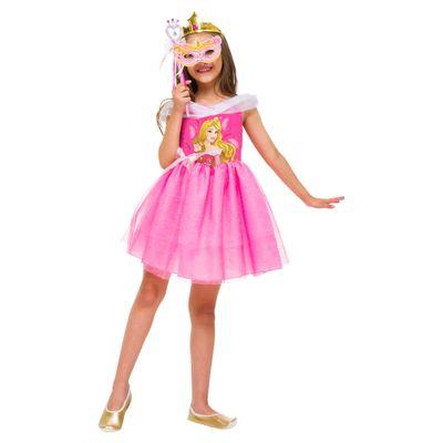Fantasia Infantil - Princesas Disney - Bela Adormecida Mascarade - Rubies