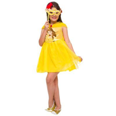 Fantasia Infantil - Princesas Disney - Bela Mascarade - Rubies
