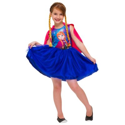 Fantasia Infantil - Disney Frozen - Anna Mascarade - Rubies