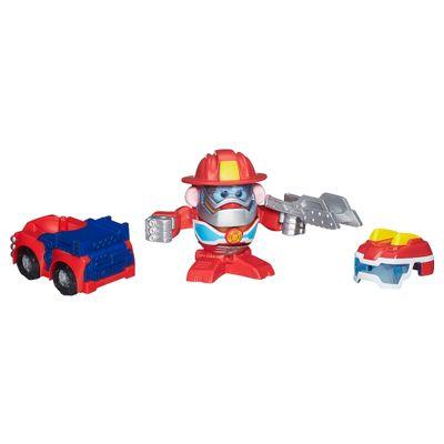 Mini Boneco Mr. Potato Head - Transformers com Acessórios - Heatwave - Hasbro
