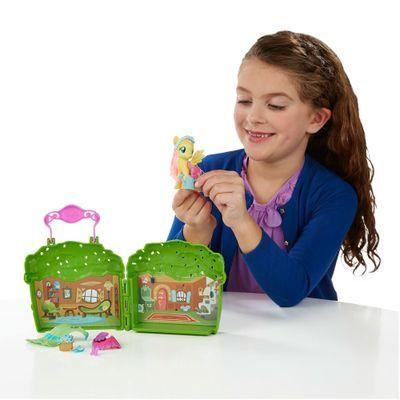 Playset My Little Pony - Explore Equestria - Cabana da Fluttershy - Hasbro