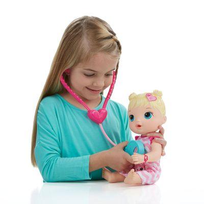 Boneca Baby Alive - Loira - Cuida de Mim - Hasbro
