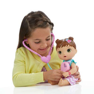 Boneca Baby Alive - Morena - Cuida de Mim - Hasbro