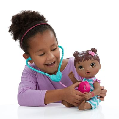 Boneca Baby Alive - Negra - Cuida de Mim - Hasbro