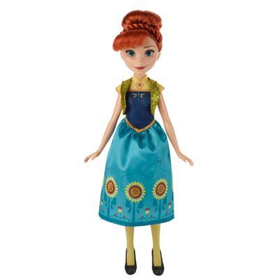 Boneca Clássica - Disney Frozen - Febre Congelante - Princesa Anna - Hasbro