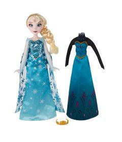 Boneca-Disney-Frozen---Vestidos-Reais---Rainha-Elsa---Hasbro