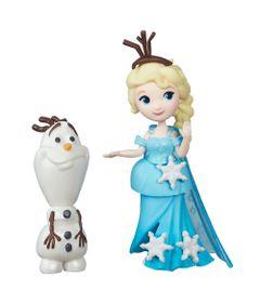 Mini-Boneca---Disney-Frozen---Elsa-e-Olaf---Hasbro