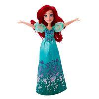 Boneca-Classica---Princesas-Disney---Ariel-Vestido-Brilhante---Hasbro