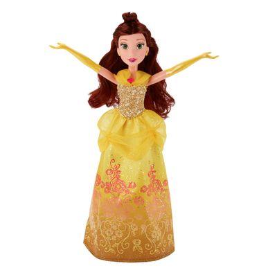 Boneca Clássica - Princesas Disney - Bela Vestido Brilhante - Hasbro