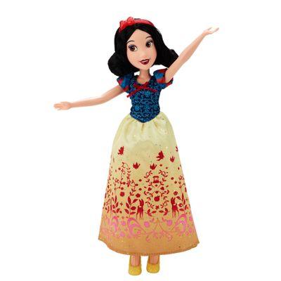 Boneca Clássica - Princesas Disney - Branca de Neve Vestido Brilhante - Hasbro