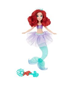Boneca-Princesas-Disney---Bolhas-Magicas---Ariel---Hasbro
