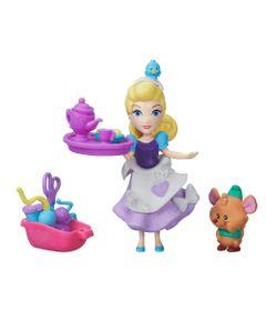 Mini-Boneca---Princesas-Disney-Little-Kingdom---Festa-de-Costura-da-Cinderela---Hasbro