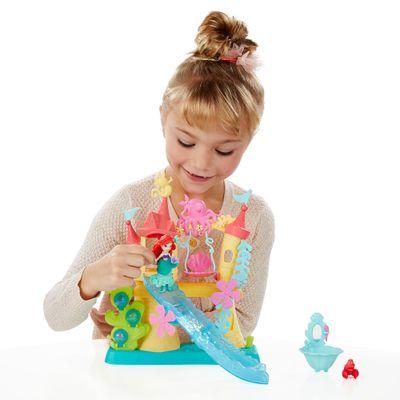 Playset Princesas Disney - Little Kingdom - Palácio Aquático da Ariel - Hasbro