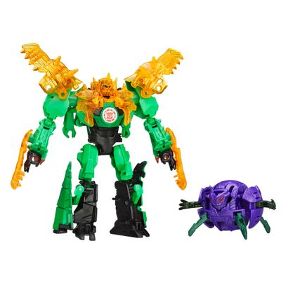 Boneco Transformers - Robots In Disguise - Minicons Battle - Grimlock Vs Decepticon Back - Hasbro