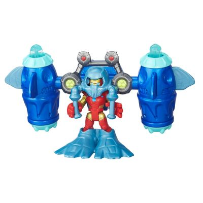 Mini Figura Playskool - Marvel Super Hero Adventure - Homem de Ferro no Oceano - Hasbro - Disney