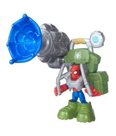 Mini-Figura-Playskool-Heroes---Marvel-Super-Hero-Adventure---Spider-Man-na-Selva---Hasbro