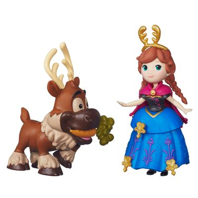 Mini Boneca - Disney Frozen - Anna e Sven - Hasbro