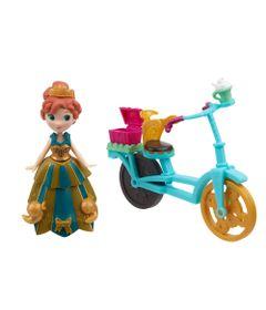 Mini-Boneca---Disney-Frozen-Little-Kingdom---Anna-e-sua-Bicicleta---Hasbro