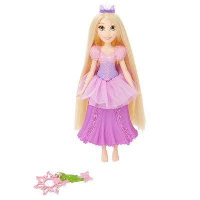 Boneca Princesas Disney - Bolhas Mágicas - Rapunzel - Hasbro