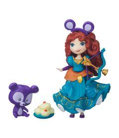 Mini-Boneca---Princesas-Disney-Little-Kingdom---Aventuras-Divertidas-da-Merida---Hasbro