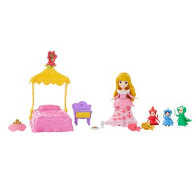 Playset Princesas Disney - Little Kingdom - Conto de Fadas da Aurora - Hasbro