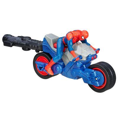 Veiculo-Blast-N--Go---Ultimate-Spider-Man-Vs-Sexteto-Sinistro---Moto-Aranha---Hasbro