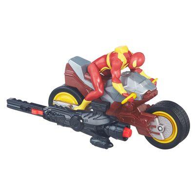 Veiculo-Blast-N--Go---Ultimate-Spider-Man-Vs-Sexteto-Sinistro---Moto-de-Propulsao---Hasbro