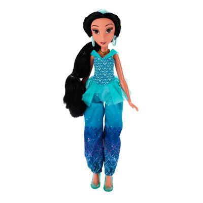 Boneca Clássica - Princesas Disney - Jasmin Vestido Brilhante - Hasbro