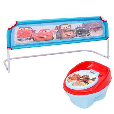 Kit Disney Cars - Troninho e Grade de Cama - Styll Baby