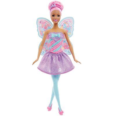 Boneca Barbie - Reinos Mágicos - Fada do Reino dos Doces - Mattel