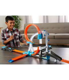 Conjunto-de-Pista-e-Extensores-Hot-Wheels---Kit-de-Acrobacia-com-Veiculo-e-Lancador---Mattel
