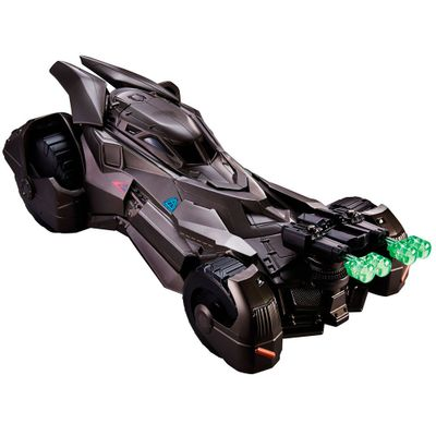 Veículo de Batalha - DC Heroes - Batman Vs Superman - Batmóvel com Lançadores - Mattel