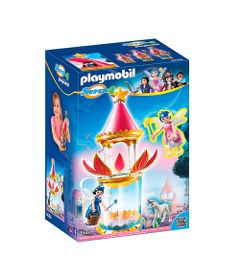 Playset-e-Figura-Playmobil---Serie-Super-4---Torre-Musical-e-Torre-Twinkle---6688