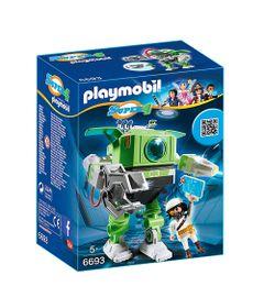 Figura-com-Acessorios-Playmobil---Serie-Super-4---Robo-Cleano---6693