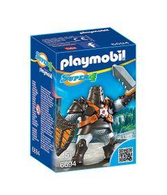 Figura-com-Acessorios-Playmobil---Serie-Super-4---Colossus-Negro---6694