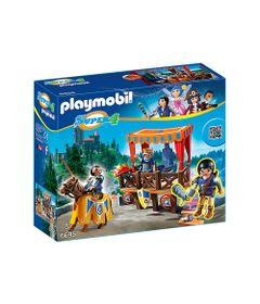 Playset-e-Figura-Playmobil---Serie-Super-4---Tribuna-Real-com-Alex---6695