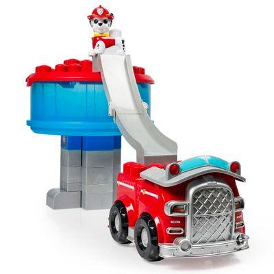Playset-Patrulha-Canina---Torre-de-Resgate-e-Caminhao-de-Bombeiros-com-Figura---Sunny