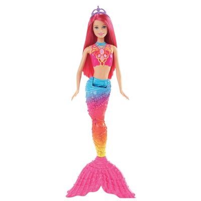 Boneca Barbie - Reinos Mágicos - Sereia do Reino dos Arco-íris - Mattel
