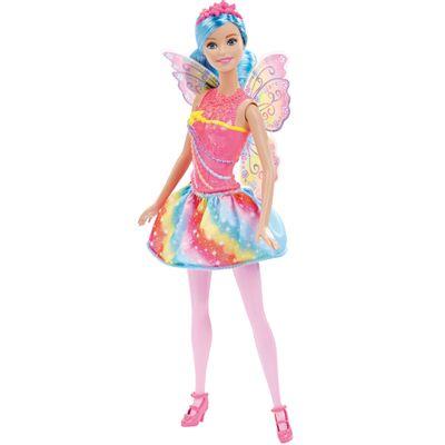 Boneca Barbie - Reinos Mágicos - Fada do Reino dos Arco-íris - Mattel