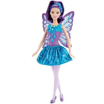 Boneca Barbie - Reinos Mágicos - Fada do Reino dos Diamantes - Mattel