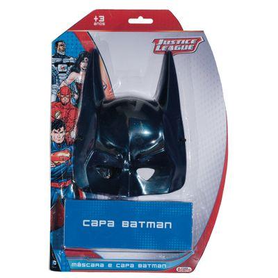 Máscara e Capa Batman - Liga da Justiça - Novabrink