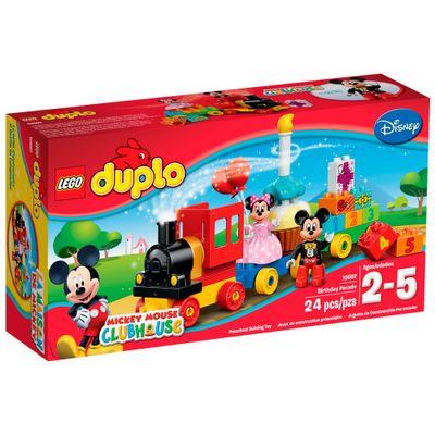 10597 - LEGO Duplo - Desfile de Aniversário Mickey e Minnie - Disney