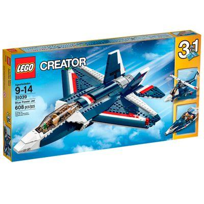 31039 - LEGO Creator - Avião a Jato Azul