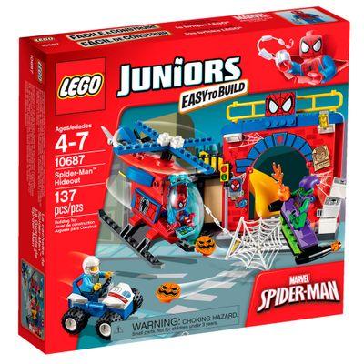 10687 - LEGO Juniors - Esconderijo Spider-Man - Disney