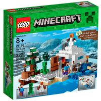 21120---LEGO-Minecraft---O-Esconderijo-da-Neve