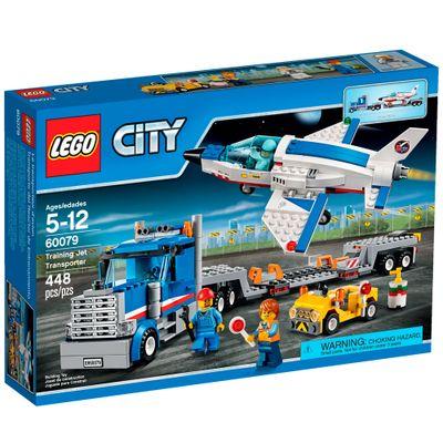 60079 - LEGO City - Transportador Avião a Jato de Treino
