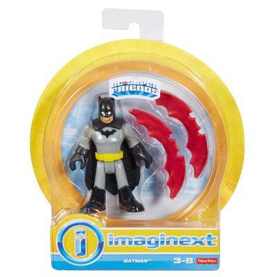 Mini Figura de Ação - DC Comics - Imaginext - Batman com Acessórios 15 Cm - Mattel