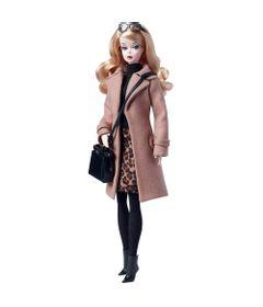 Boneca-Barbie-Colecionavel---Serie-Fashion-Model---Barbie-com-Casaco---Mattel
